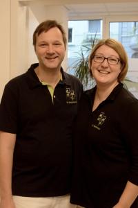 Dr. Ansgar Waldmann, Tierarzt und Christiane Waldmann, Praxis-Managerin